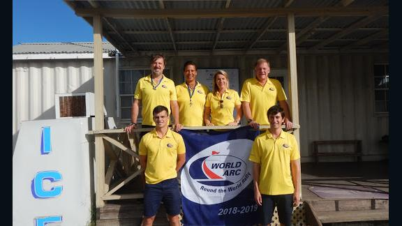 The World ARC support team in Saint Lucia.