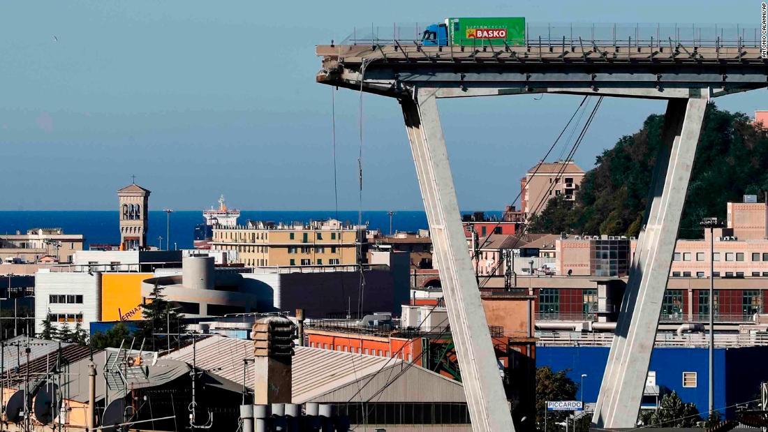 'Daddy, the bridge is falling': Genoa survivors speak of their terror as Italy seeks answers