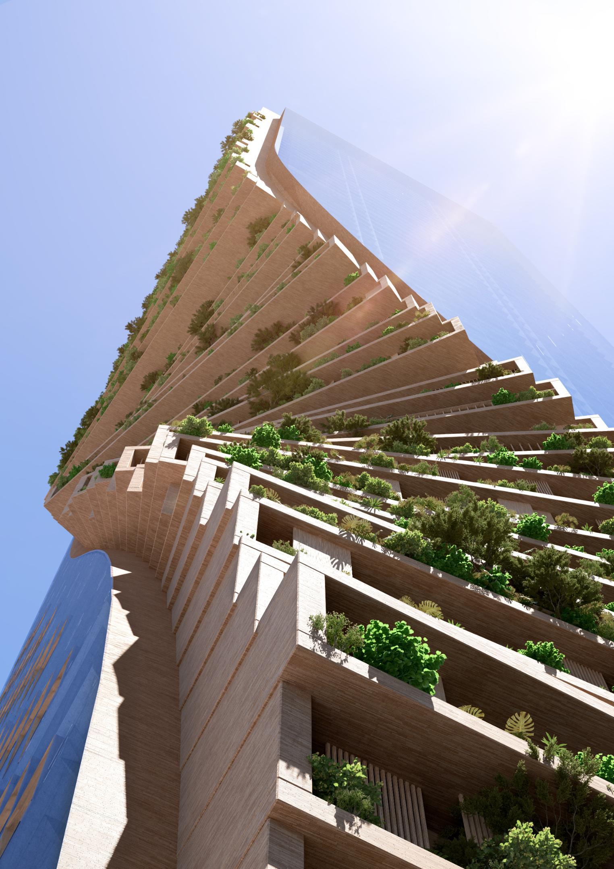 Twisting \'garden\' skyscraper to become Australia\'s tallest building ...