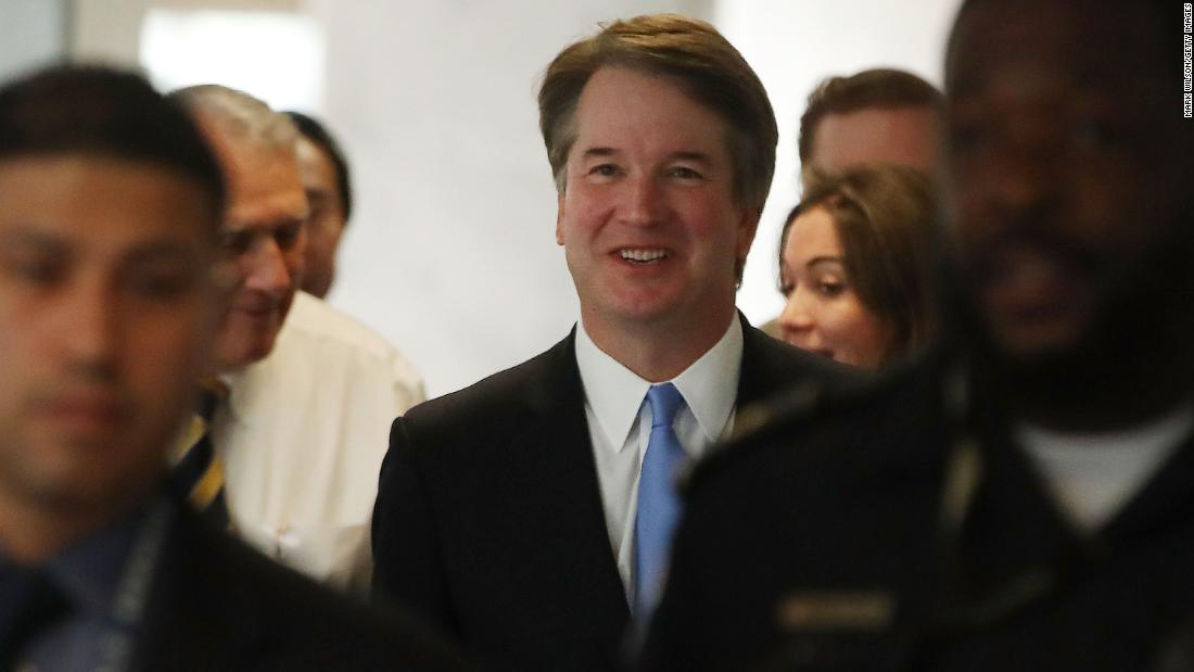 Trump admin withholds 100,000-plus pages of Kavanaugh docs