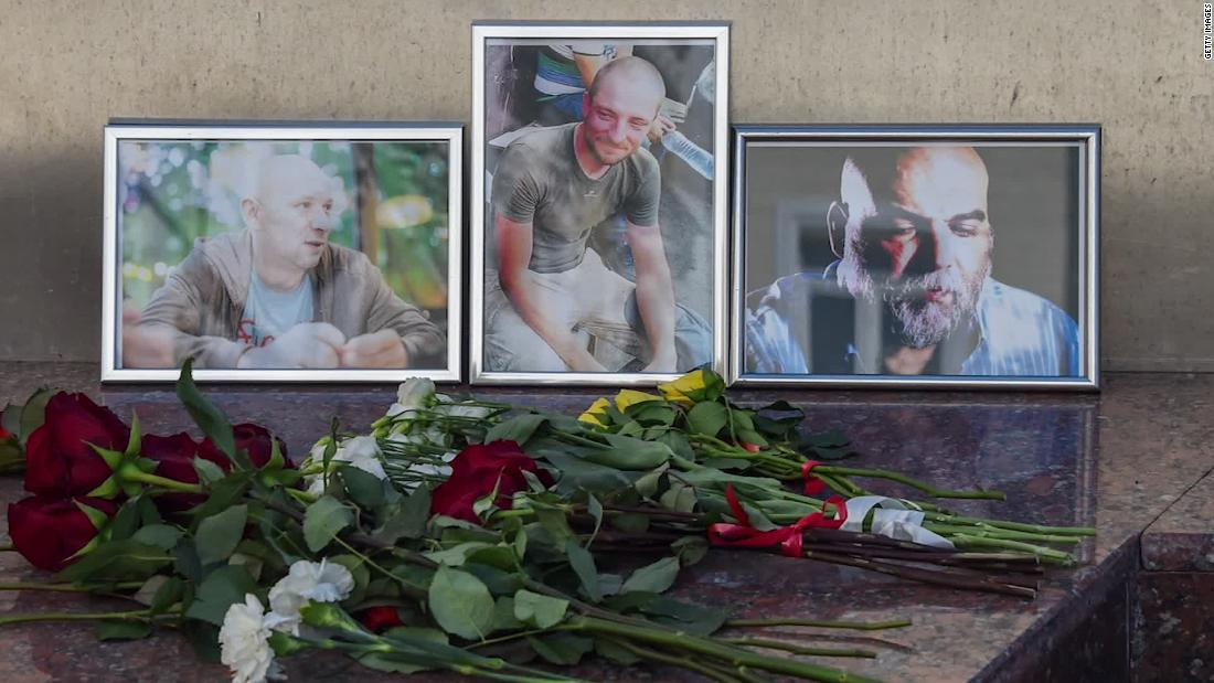 Mystery surrounds journalists' deaths