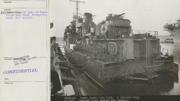 The USS Abner Read underwent repairs at the Puget Sound Naval Shipyard in Bremerton, Washington.