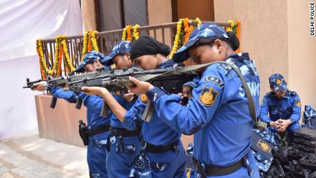 India's first all-female SWAT team hits the streets