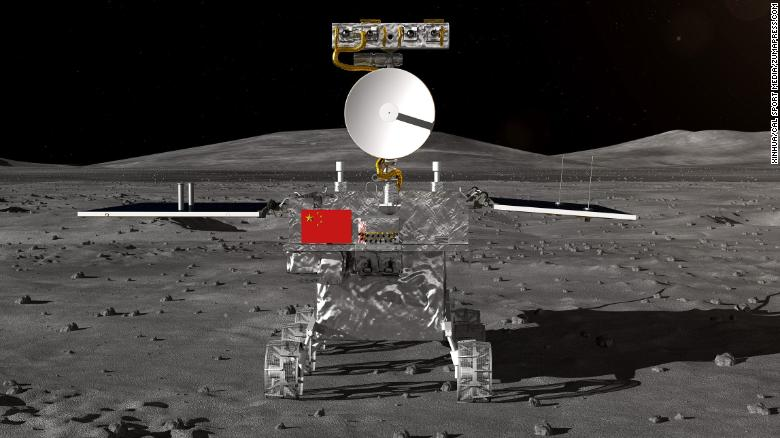Image result for China's probe on the dark side of the Moon