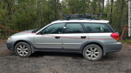 The unoccupied Subaru Outback  Maheny was driving was found at the Blue Lake Trailhead in Cowlitz County on Saturday.