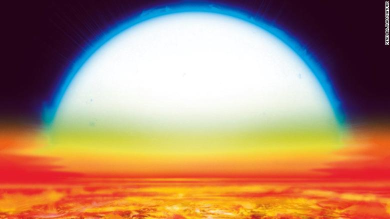 KELT-9b, a planet some 650 light years from Earth, is hotter than many stars.