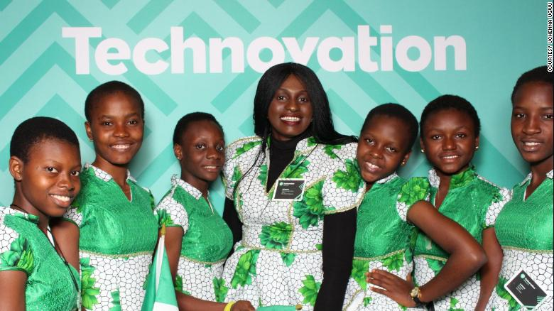 Technovation Winning Team Led By Uchenna Onwuamaegbu-Ugwu, World Pitch Tech Competion for Girls in Coding Techwomen