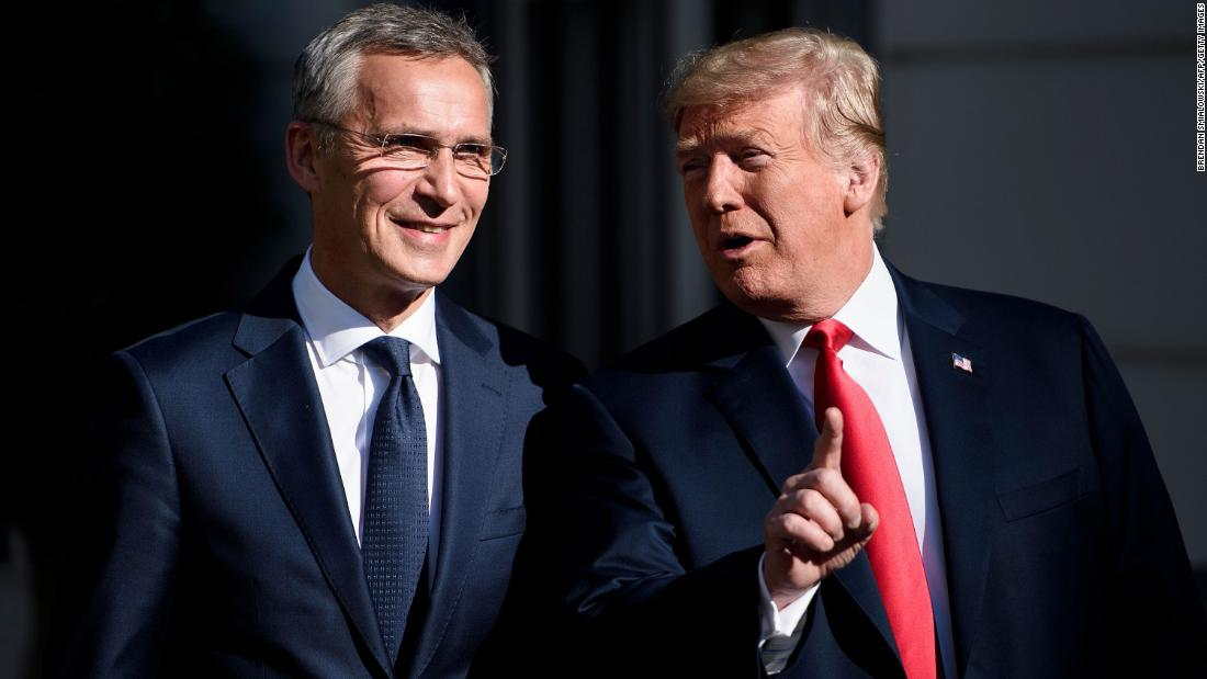 """Germany is a captive of Russia,"" Trump said at a meeting with NATO Secretary General Jens Stoltenberg on July 11. ""It's very inappropriate."" Trump went on to complain that the United States is expected to ""defend them against Russia,"" despite Germany making ""billions of dollars"" in energy payments to Moscow."
