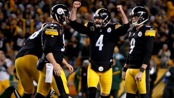 Pro Kick graduate Jordan Berry (#4) is in his fourth year with the Pittsburgh Steelers. In 2015, Berry beat out fellow Aussie Brad Wing for the Steeler