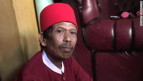 Siti Aisyah's father, Asria, on Thursday, August 16.