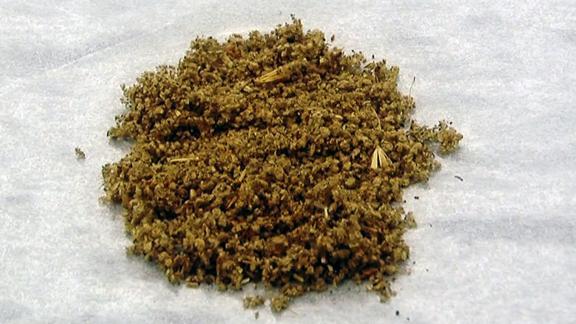 Examples of synthetic marijuana, provided by the DEA