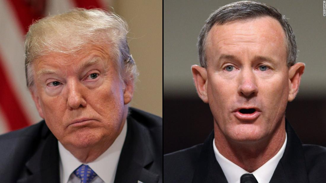 McRaven resigned from Pentagon board days after rebuking Trump