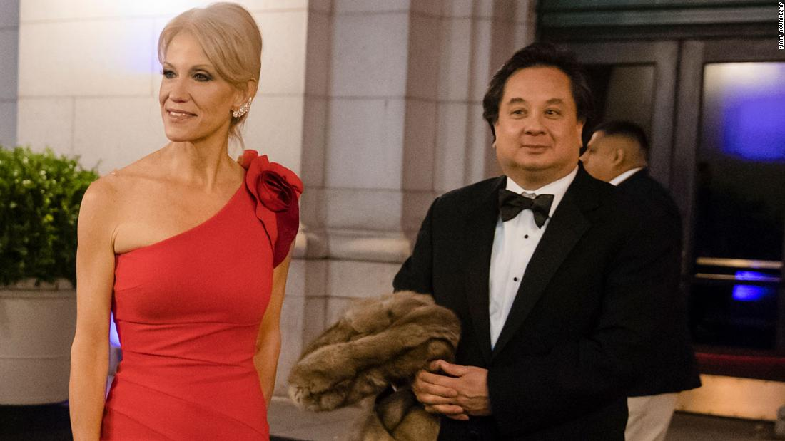 Opinion: Political spouses like George Conway are fair game