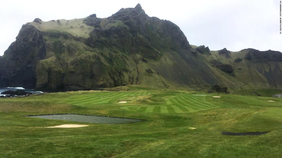 On the Icelandic island of Heimaey, the largest of the rocky Icelandic Westman Islands, the opportunity to play one of the country's most enchanting courses draws locals and tourists alike. Around 10% of Vestmannaeyjar's 4,500 population are members of the club.