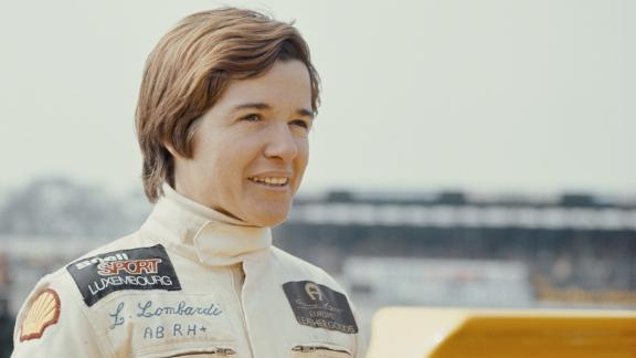 In 1975, Lella Lombardi became the first and only female driver to earn points in a grand prix. She finished sixth and scored a point at the Spanish Grand Prix, but the race was halted after 29 laps due to a major crash and drivers were awarded half points.
