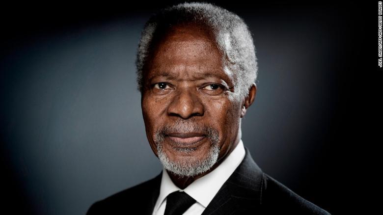 See triumphs and tribulations of Kofi Annan's career