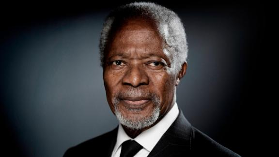 Kofi Annan, the first black African to lead the United Nations, died August 18 at the age of 80. He served as the UN's Secretary-General from 1997 to 2006. His efforts to secure a more peaceful world brought him and the UN the Nobel Peace Prize in 2001.