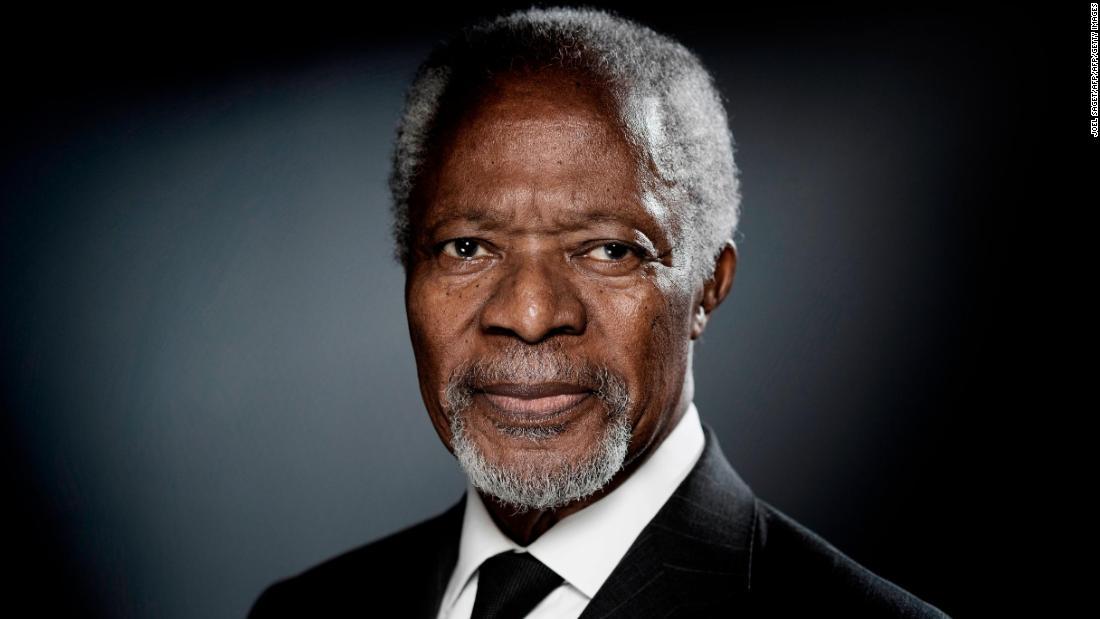 Former UN Secretary-General Kofi Annan dead at age 80