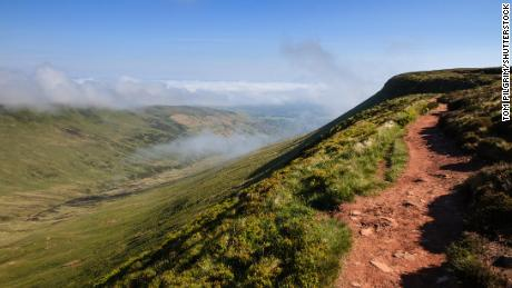 Fan y Big, a peak in the Brecon Beacons National Park, has been downgraded from mountain to hill.