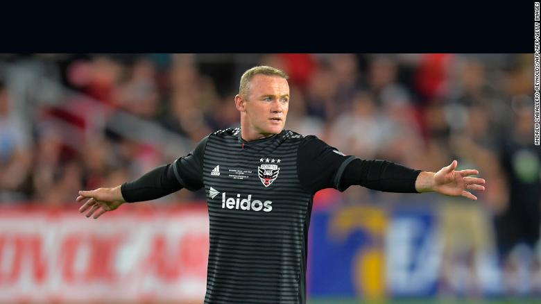 Wayne Rooney scored 12 goals in his debut season for DC United.
