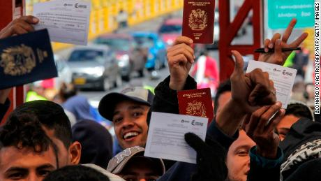 Neighboring South American countries stiffen borders as chaos in Venezuela triggers exodus