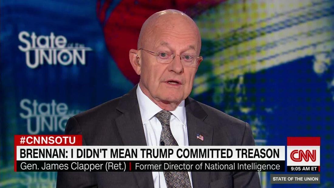 Clapper: Brennan's rhetoric has become an issue
