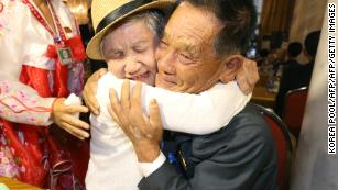 Korean reunions: Tears as mother and son meet for first time in 68 years