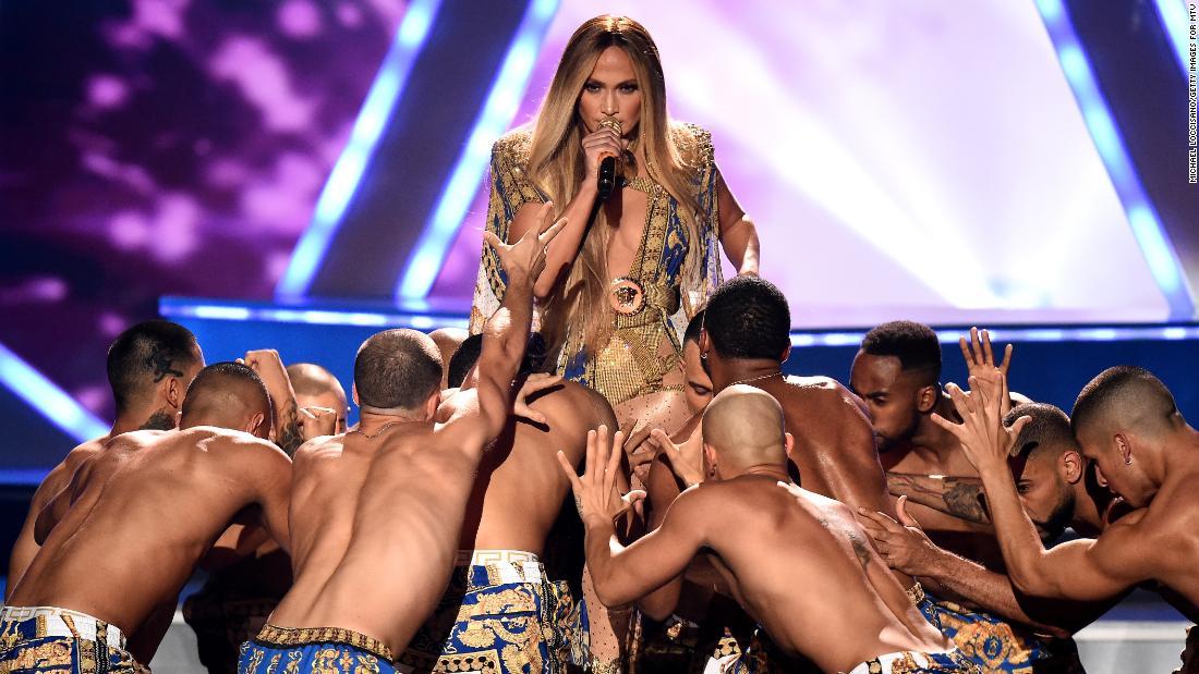Jennifer Lopez rocks VMAs with journey through her musical past