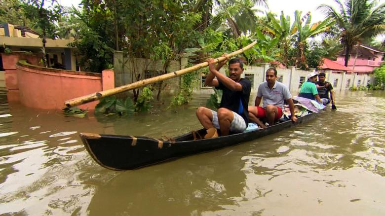Kerala struggling to deal with massive floods