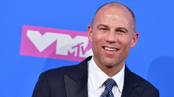 US attorney Michael Avenatti attends the 2018 MTV Video Music Awards at Radio City Music Hall on August 20, 2018 in New York City. (Photo by ANGELA WEISS / AFP)        (Photo credit should read ANGELA WEISS/AFP/Getty Images)