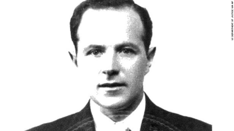 Jakiw Palij, pictured in 1957. Photograph courtesy US Justice Department.