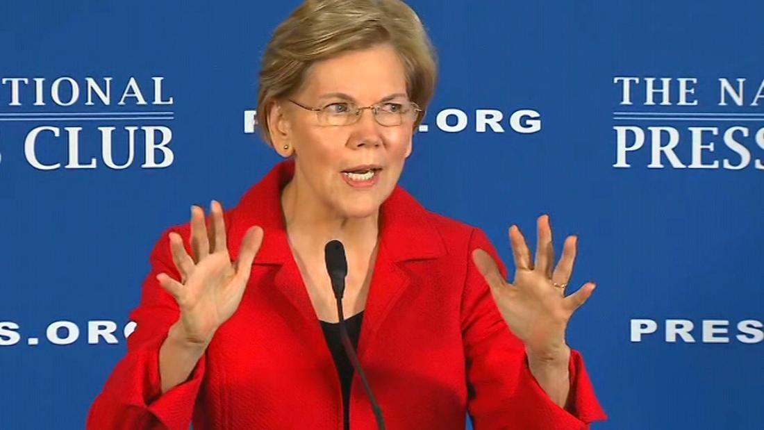 Warren promises to take populism to the White House in New York City speech