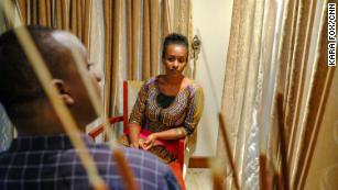 """Anne Rwigara: """"We don't hide... you just reach a point and stand still and face what comes your way. They use a lot of pressure and fear to just silence people. You get to a point you realize you can't take it, you can't keep running and hiding. You feel better, when you are speaking the truth."""""""