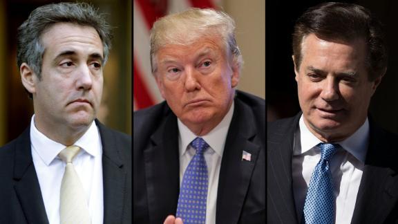 Cohen, Trump and Manafort