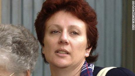 Kathleen Folbigg seen outside court, in Sydney in 2003.