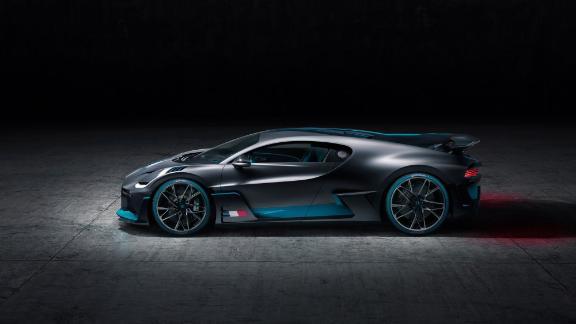 Aerodynamics are still a key factor in the shape of the Bugatti Divo.