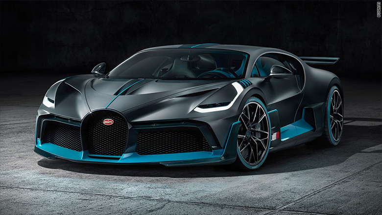 bugatti reveals $6 million supercar that's slower, but more exciting