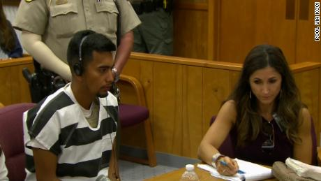 Cristhian Rivera was charged with the murder of Mollie Tibbetts, a 20-year-old college student, in an Iowa court on Wednesday, August 22, 2018.