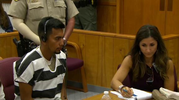 Cristhian Bahena Rivera, left, is charged with the murder of college student Mollie Tibbetts.