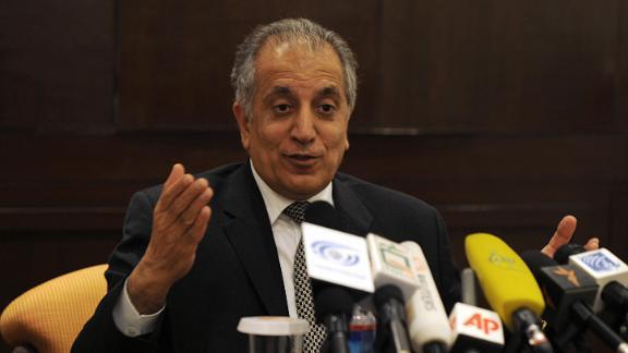 Zalmay Khalilzadin Kabul in 2009.