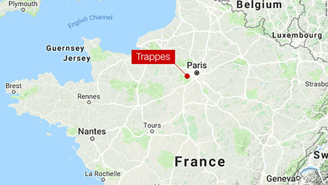 Nantes Karte.Knife Attack Near Paris Leaves Two Dead One Injured Cnn