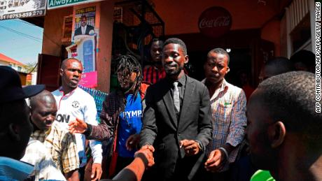 Pop star MP Bobi Wine charged with treason in Uganda
