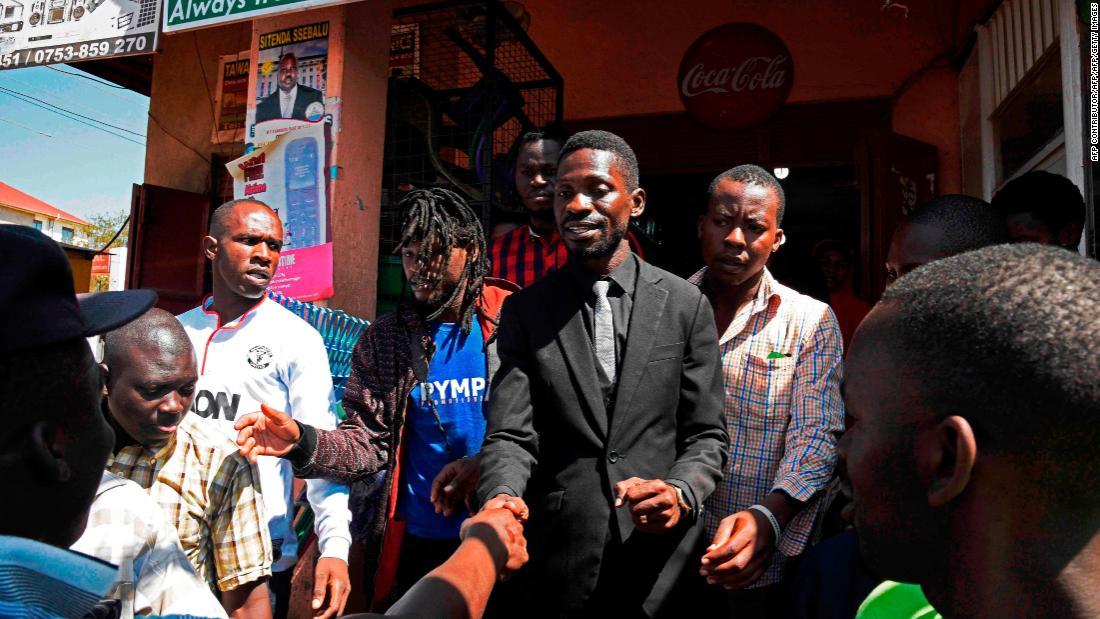 MP Bobi Wine back in Uganda, brothers arrested