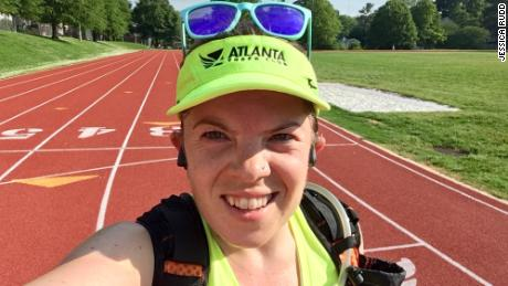 Jessica Rudd runs at least 30 miles a week and says she frequently gets harassed.