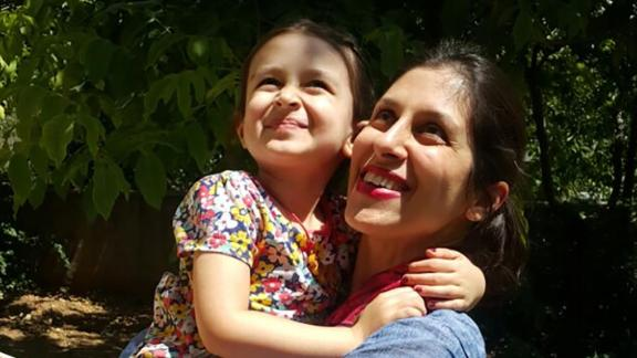 In August Zaghari-Ratcliffe was temporarily released from prison and reunited with daughter Gabriella for three days.