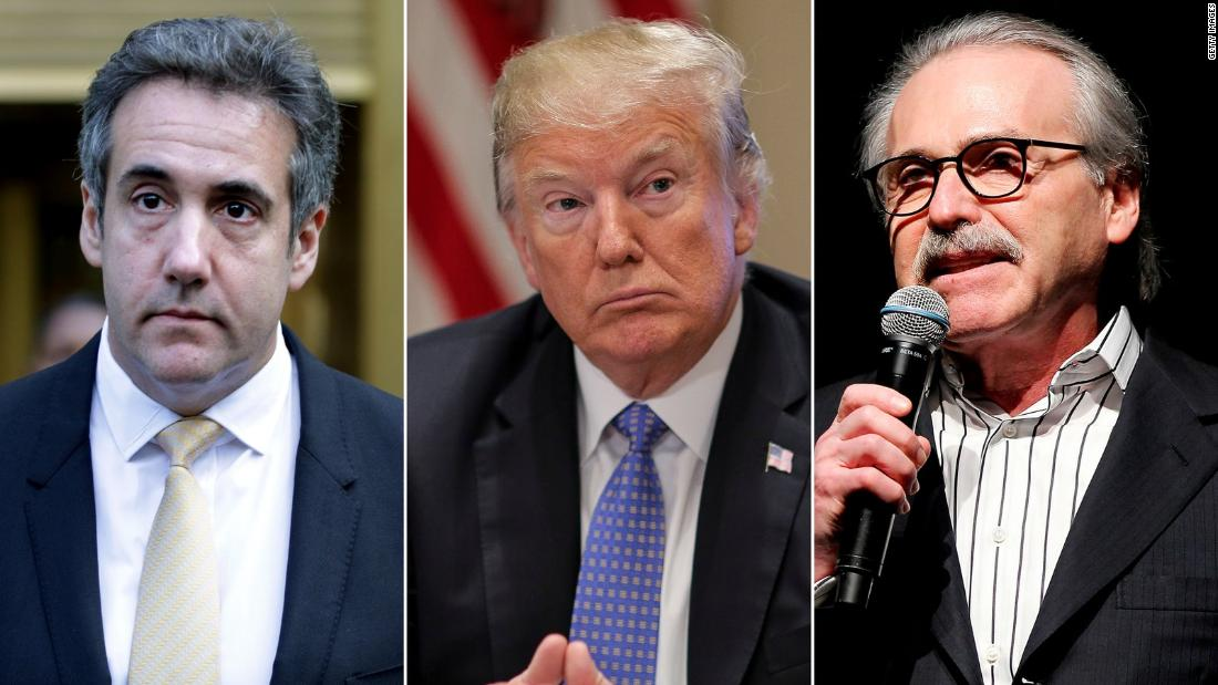 Analysis: Trump sees Sessions, Cohen and possibly the head of the National Enquierer as betraying him