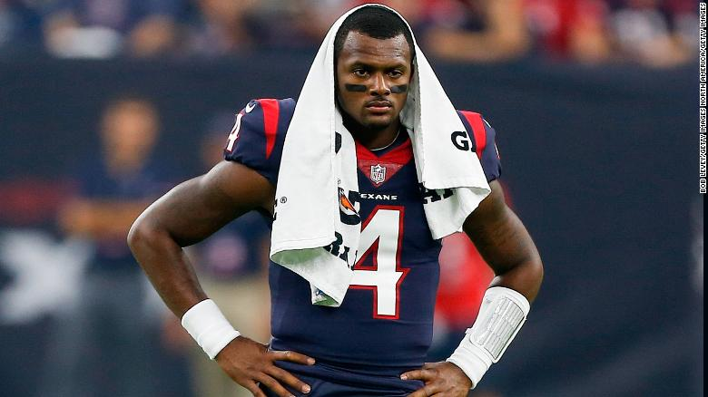 NFL star Deshaun Watson sued for alleged sexual assault
