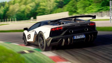 See Lamborghini S New Aventador Svj Supercar Cnn Video