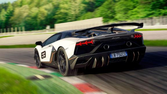 The limited edition Lamborghini Aventador SVJ 63 honors the year of Lamborghini