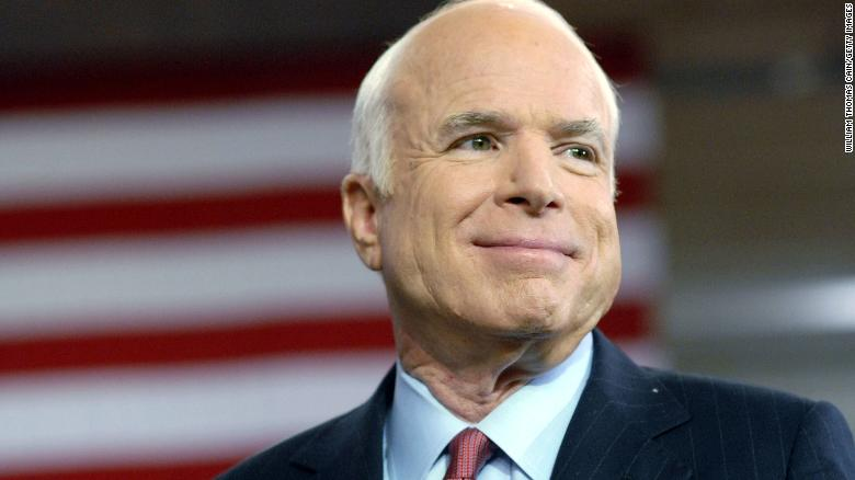 John McCain, senator and former presidential candidate, dies at 81